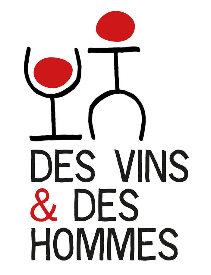 Des vins et des hommes logotype
