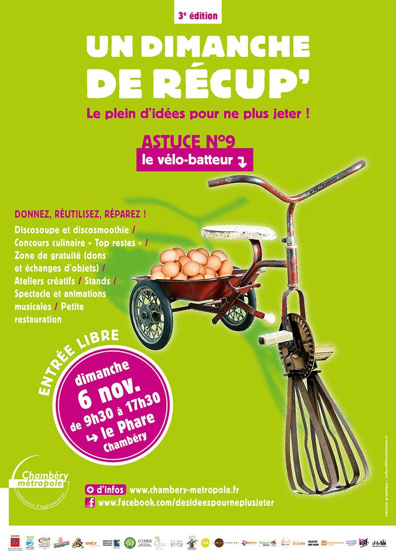 campagne Chambéry métropole dimanche de récupération