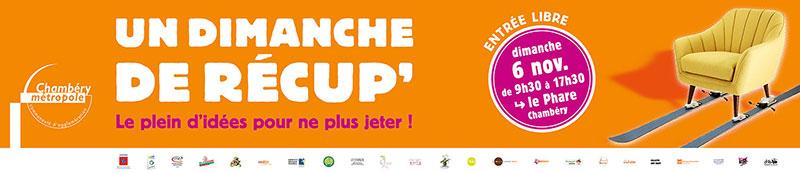 campagne Chambéry métropole dimanche de récupération bache