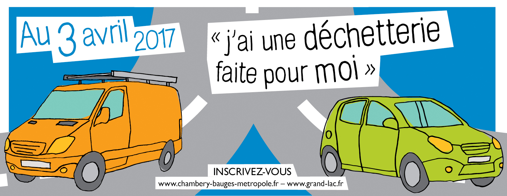 campagne Chambéry métropole coeur des bauges déchetterie