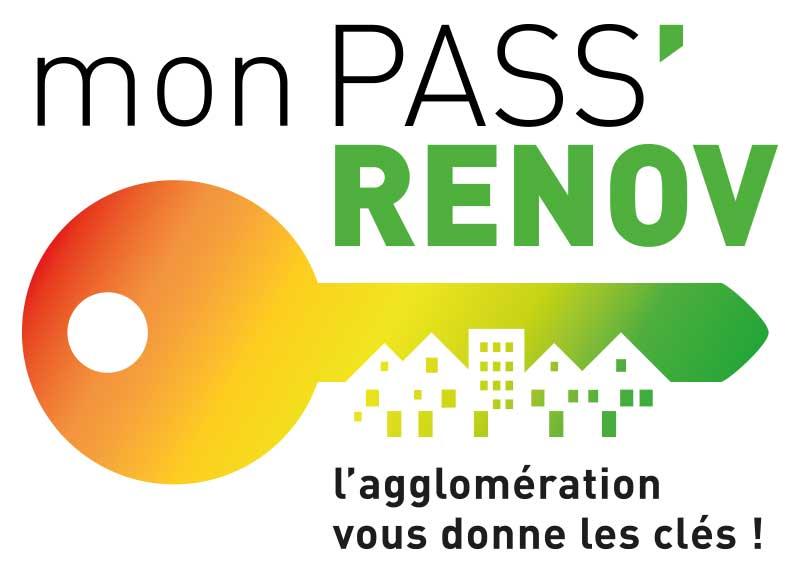 Chambéry métropole – logo mon PassRenov
