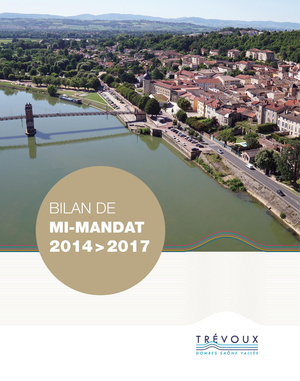 edition ville de Trévoux bilan mi-mandat