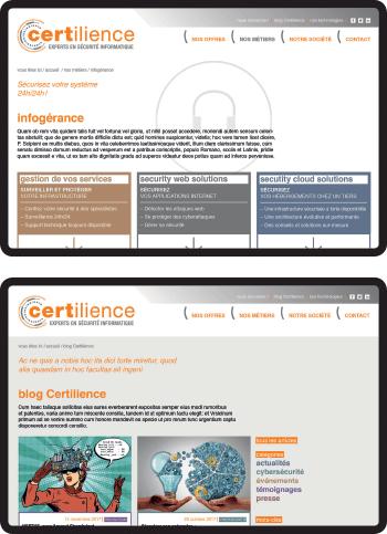 identité certilience site