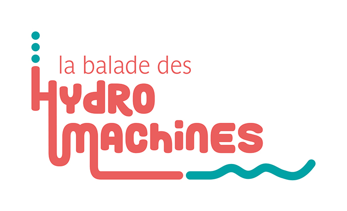 identité visuelle les hydromachines logotype