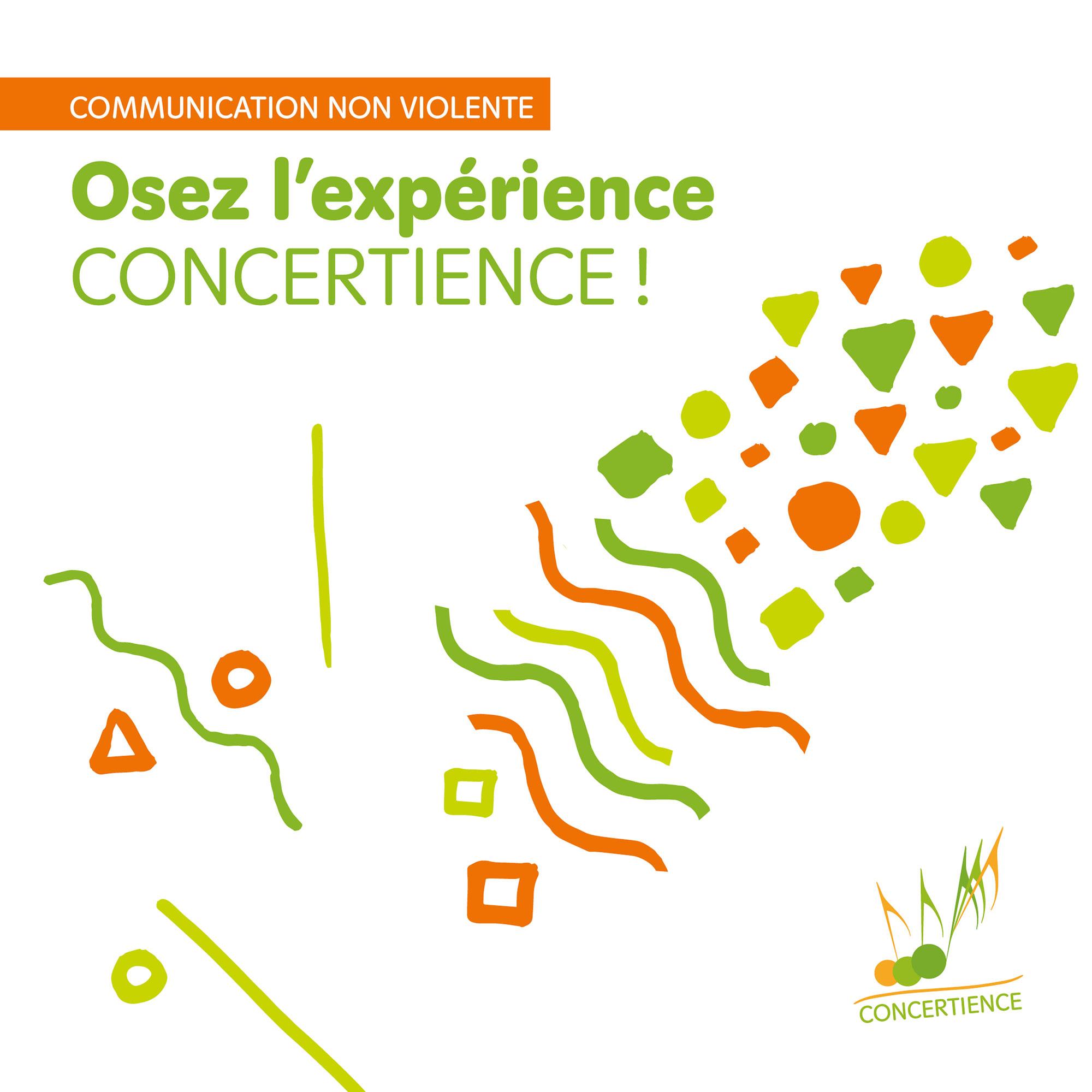 plaquette concertience communication non violente françoise keller