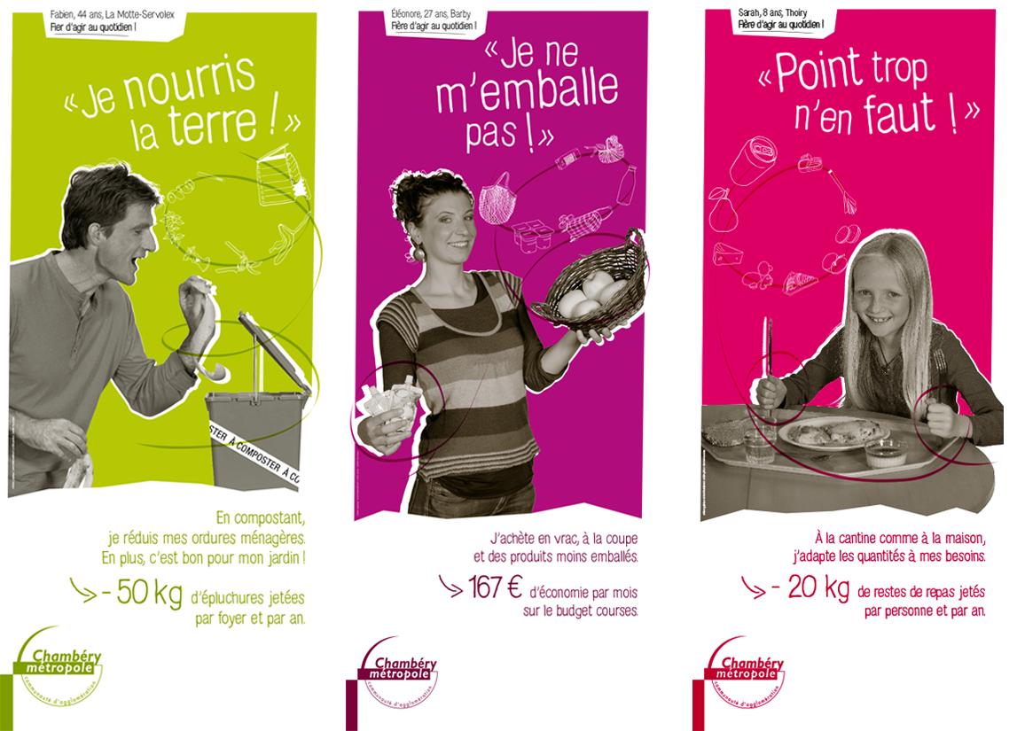 campagne stratégie Chambéry métropole kakémono