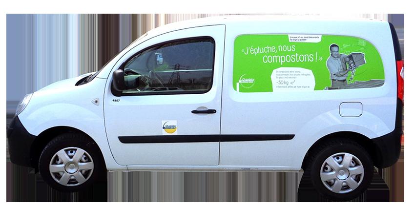 campagne stratégique Chambéry métropole habillage véhicule