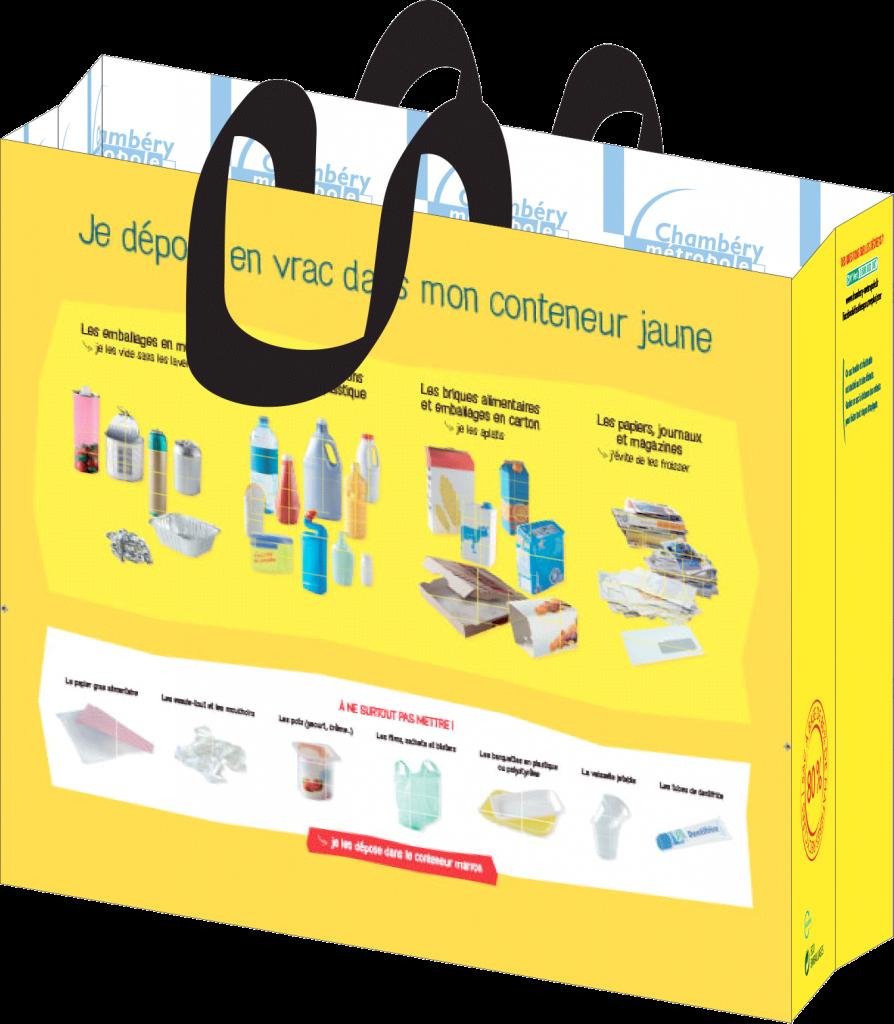 campagne stratégie Chambéry métropole sac