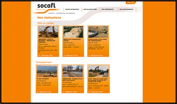 pétavit -socafl site internet