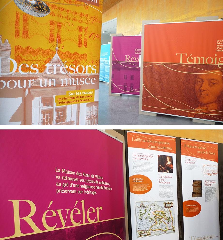 ville de Trévoux exposition Maison des Sires